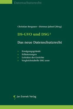 DSGVO und DSG von Bergauer,  Christian, Jahnel,  Dietmar