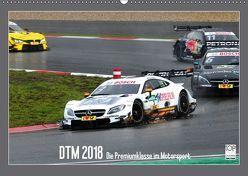 DTM 2018 – Die Premiumklasse im Motorsport (Wandkalender 2018 DIN A2 quer) von Born,  Olav