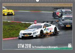 DTM 2018 – Die Premiumklasse im Motorsport (Wandkalender 2018 DIN A3 quer) von Born,  Olav