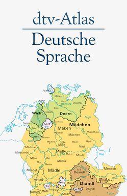 dtv-Atlas Deutsche Sprache von König,  Werner, Paul,  Hans-Joachim