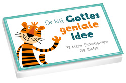 Du bist Gottes geniale Idee – Textkarten