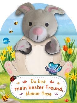 Du bist mein bester Freund, kleiner Hase. Ein Handpuppenbuch von Bär,  Judith, Kühler,  Anna-Lena
