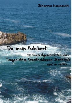 Du, mein Adelbert — 20 Kürzestgeschichten über Taugenichtse, Urzeitheldinnen, Steitköpfe und so weiter … von Kozinowski,  Johannes