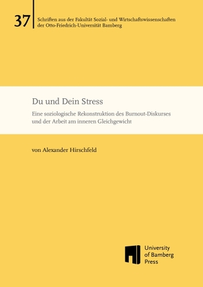 Du und Dein Stress von Hirschfeld,  Alexander
