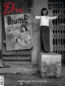 du – Zeitschrift für Kultur / Burma 1992 von Bachmann,  Dieter, Htun,  Thaung, Lintner,  Bertil, Schwartz,  Daniel