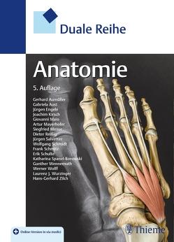 Duale Reihe Anatomie von Aumüller,  Gerhard, Aust,  Gabriela, Conrad,  Arne, Engele,  Jürgen, Kirsch,  Joachim