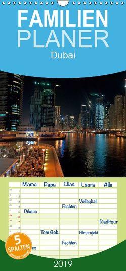 Dubai – Familienplaner hoch (Wandkalender 2019 , 21 cm x 45 cm, hoch) von Schneider www.ich-schreibe.com,  Michaela