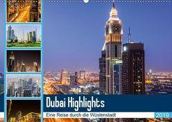 Dubai Highlights (Wandkalender 2019 DIN A2 quer) von Nawrocki,  Markus