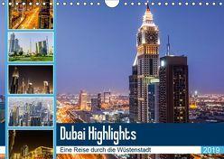 Dubai Highlights (Wandkalender 2019 DIN A4 quer) von Nawrocki,  Markus