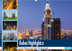 Dubai Highlights (Wandkalender 2020 DIN A2 quer) von Nawrocki,  Markus