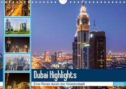 Dubai Highlights (Wandkalender 2020 DIN A4 quer) von Nawrocki,  Markus