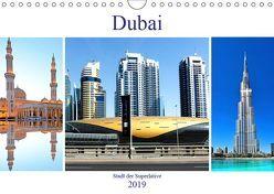 Dubai – Stadt der Superlative (Wandkalender 2019 DIN A4 quer) von Schwarze,  Nina
