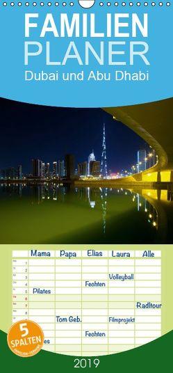 Dubai und Abu Dhabi 2019 – Familienplaner hoch (Wandkalender 2019 , 21 cm x 45 cm, hoch) von Pavlowsky Photography,  Markus