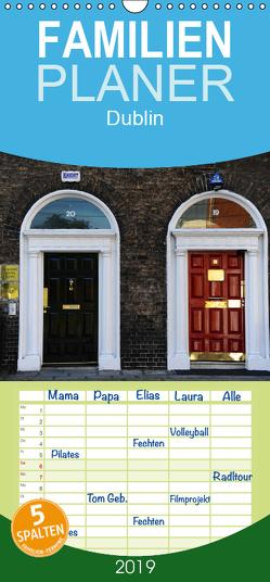 Dublin – Familienplaner hoch (Wandkalender 2019 , 21 cm x 45 cm, hoch) von Nordstern