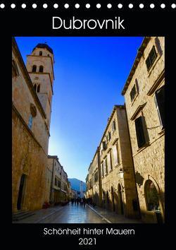 Dubrovnik – Schönheit hinter Mauern (Tischkalender 2021 DIN A5 hoch) von Sommer,  Melanie