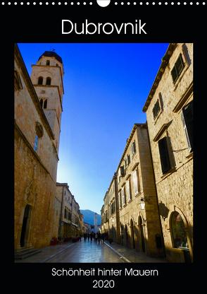 Dubrovnik – Schönheit hinter Mauern (Wandkalender 2020 DIN A3 hoch) von Sommer,  Melanie