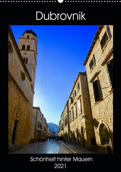 Dubrovnik – Schönheit hinter Mauern (Wandkalender 2021 DIN A2 hoch) von Sommer,  Melanie