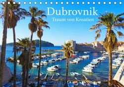 Dubrovnik – Traum von Kroatien (Tischkalender 2021 DIN A5 quer) von Sommer,  Melanie