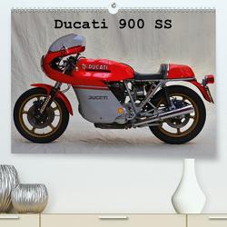 Ducati 900 SS (Premium, hochwertiger DIN A2 Wandkalender 2021, Kunstdruck in Hochglanz) von Laue,  Ingo