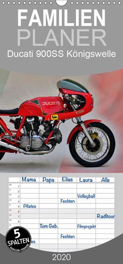 Ducati 900SS Königswelle – Familienplaner hoch (Wandkalender 2020 , 21 cm x 45 cm, hoch) von Laue,  Ingo