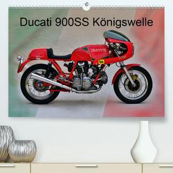 Ducati 900SS Königswelle (Premium, hochwertiger DIN A2 Wandkalender 2021, Kunstdruck in Hochglanz) von Laue,  Ingo