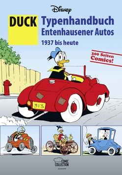 DUCK – Typenhandbuch Entenhausener Autos 1937 bis heute von Disney,  Walt, Penndorf,  Gudrun, Presta,  Sérgio, Schurr,  Gerlinde