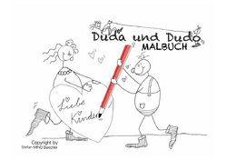 Duda & Dudo / Duda & Dudo – Malbuch von Baechler,  Stefan MINO