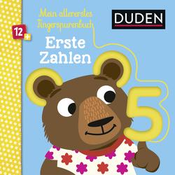 Duden 12+: Mein allererstes Fingerspurenbuch Erste Zahlen von Blanck,  Iris, Häfner,  Carla