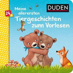 Duden 24+: Meine allerersten Tiergeschichten zum Vorlesen von Holthausen,  Luise, Schoene,  Kerstin