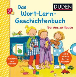 Duden 36+: Mein Wort-Lern-Geschichtenbuch: Bei uns zu Hause von Cordes,  Miriam, Grimm,  Sandra