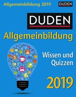 Duden Allgemeinbildung – Kalender 2019 von Harenberg, Huhnold,  Thomas