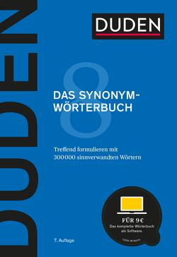Duden – Das Synonymwörterbuch von Dudenredaktion