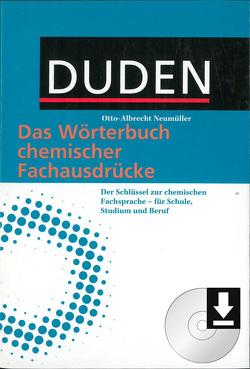 Duden – Das Wörterbuch chemischer Fachausdrücke von Neumüller,  Otto-Albrecht