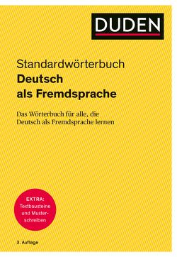 Duden – Deutsch als Fremdsprache – Standardwörterbuch von Dudenredaktion