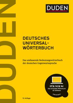 Duden – Deutsches Universalwörterbuch von Dudenredaktion