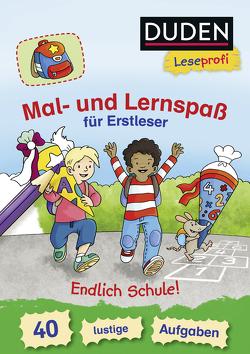 Duden Leseprofi – Mal- und Lernspaß für Erstleser. Endlich Schule! von Coenen,  Sebastian, Nahrgang,  Frauke