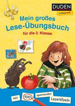 Duden Leseprofi – Mein großes Lese-Übungsbuch für die 2. Klasse von Goppel,  Christine, Hagemann,  Bernhard, Pricken,  Stephan