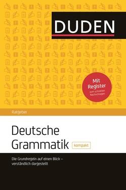 Duden Ratgeber – Deutsche Grammatik kompakt von Hoberg,  Rudolf und Ursula