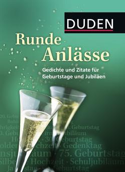 Duden – Runde Anlässe von Dudenredaktion, Schneider,  Nicole