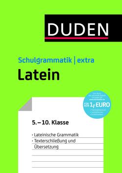 Duden Schulgrammatik extra – Latein von Bornemann,  Monika, Hennigfeld,  Petra