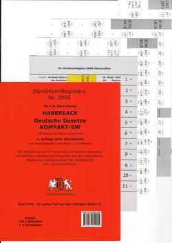 DürckheimRegister® SCHÖNFELDER KOMPAKT SW 2021 von Dürckheim,  Constantin