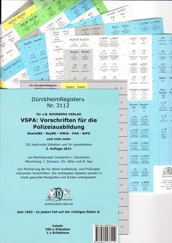 DürckheimRegister® VSPA -Alles- DürckheimRegister® 2021 von Biller,  Christina, Dürckheim,  Constantin, Reo,  Michael, Schwarz,  Jörg