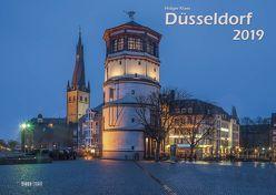Düsseldorf 2019 Bildkalender A3 quer, spiralgebunden von Klaes,  Holger