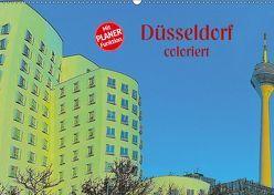 Düsseldorf coloriert (Wandkalender 2019 DIN A2 quer) von Koch,  Hermann
