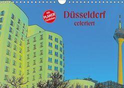 Düsseldorf coloriert (Wandkalender 2019 DIN A4 quer) von Koch,  Hermann