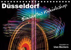 Düsseldorf – Ein buntes Kaleidoskop (Tischkalender 2019 DIN A5 quer) von Beckers,  Uwe