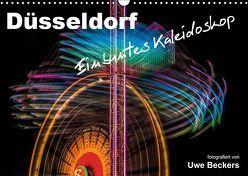 Düsseldorf – Ein buntes Kaleidoskop (Wandkalender 2019 DIN A3 quer) von Beckers,  Uwe