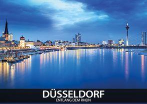Düsseldorf – entlang dem Rhein von Thoermer,  Val