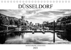 DÜSSELDORF MONOCHROME ANSICHTEN (Tischkalender 2021 DIN A5 quer) von Jaster,  Michael