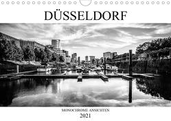 DÜSSELDORF MONOCHROME ANSICHTEN (Wandkalender 2021 DIN A4 quer) von Jaster,  Michael